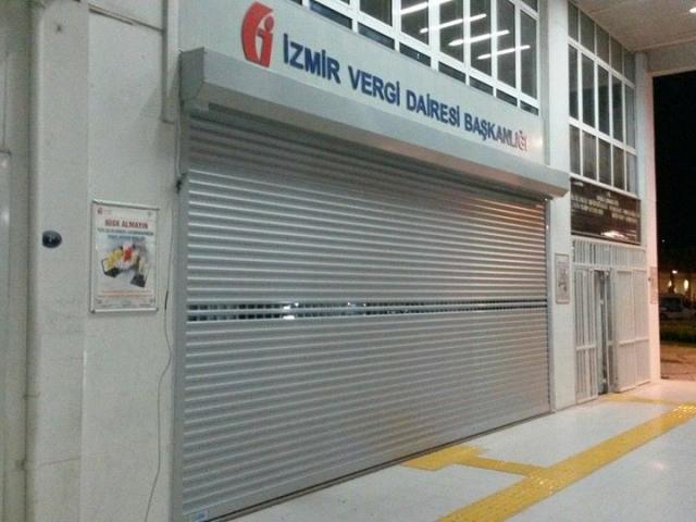 İzmir Vergi Dairesi Kepenk Montajı